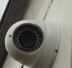 Home CCTv mini dome camera from Bradford CCTV