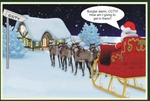 avoid Christmas burglary with a Bradford Burglar Alarm